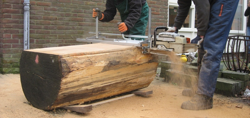 Planken Zagen Bushcraft Nederland
